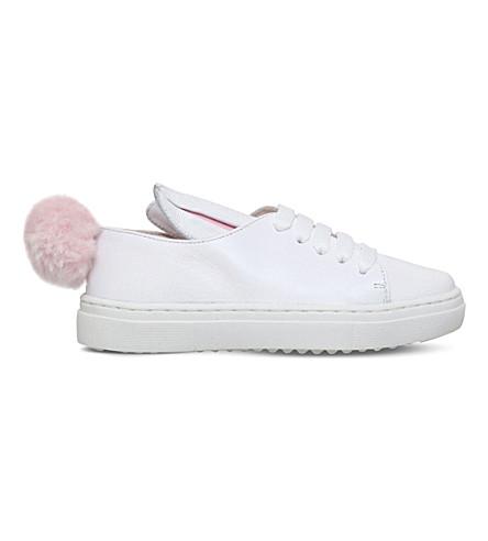 MINNA PARIKKA Tail sneaks leather sneakers 3-7 years (White
