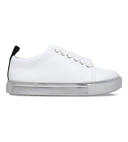 MINI MISS KG 运行野生低帮运动鞋7-11 年 (白色