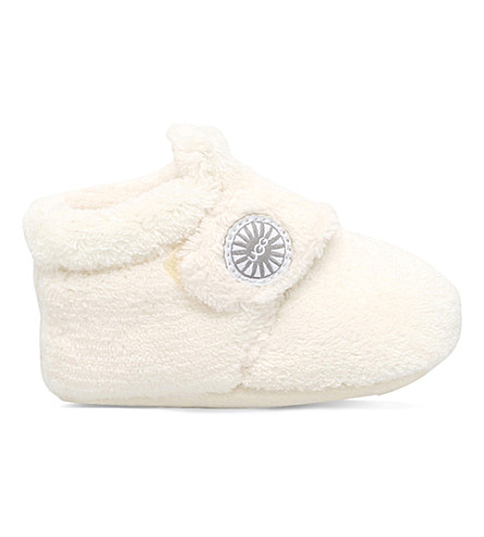 UGG Bixbee terry-cloth slippers 6 months - 1 year (Cream