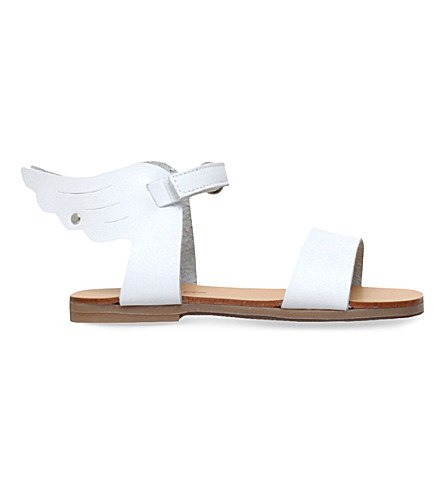 BABYWALKER Thelma wing leather sandals 2-5 years (White