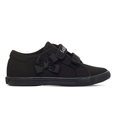 LELLI KELLY Lily canvas school shoes 3-9 years (Black