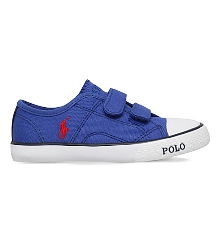POLO RALPH LAUREN Daymond EZ canvas trainers 4-9 years (Blue+other
