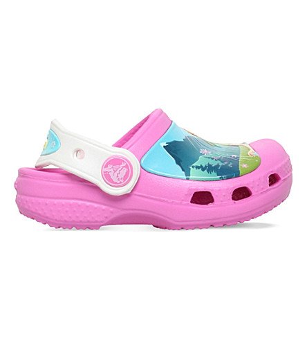 CROCS Frozen fever clogs 6 months - 9 years (Pink