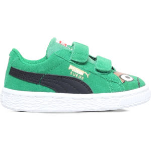 Oscar suede basket trainers 2-5 years