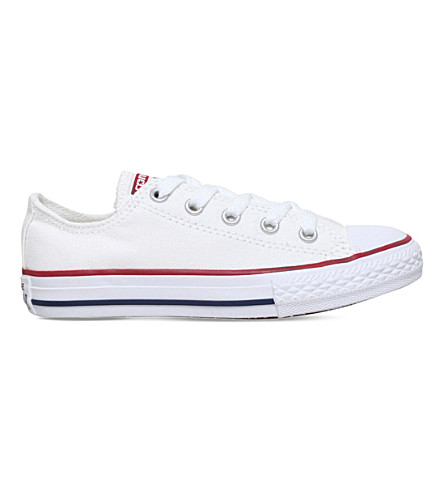 CONVERSE Chuck Taylor All Star low trainers 4-8 years (White