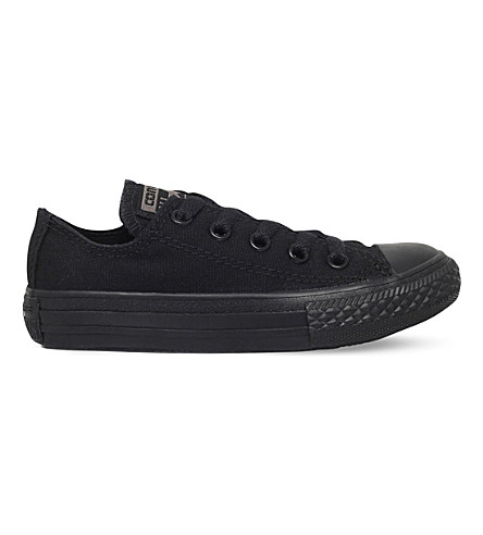 CONVERSE Chuck Taylor All Star Low-Top Canvas Sneakers 4-9 years (Black