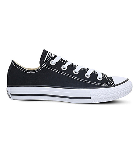 CONVERSE Chuck Taylor All Star low-top sneakers 4-8 years (Blk/white