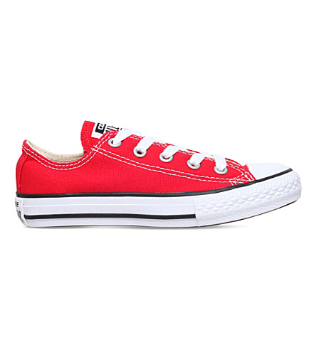 CONVERSE Chuck Taylor All Star low trainers 6-8 years (Red