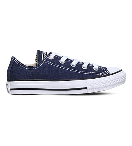 CONVERSE Low-top denim trainers 6 - 8 years (Navy