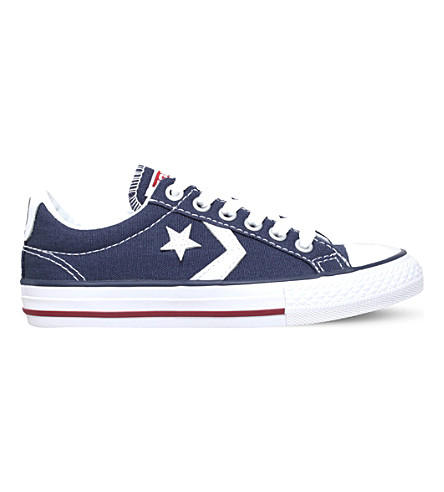 CONVERSE Star Player canvas trainers 9-11 years (Navy