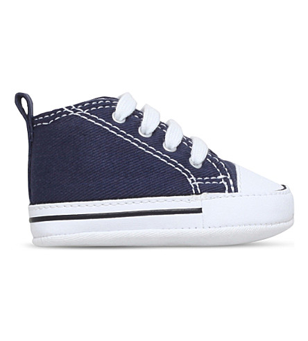 CONVERSE Chuck Taylor First Star core trainers 0-12 months (Navy