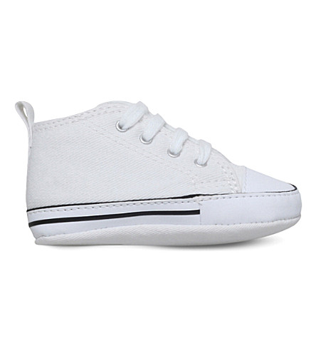 CONVERSE All Star Crib canvas trainers 0-1 years (White