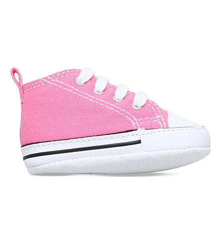 CONVERSE Chuck Taylor First Star core trainers 0-12 months (Pink