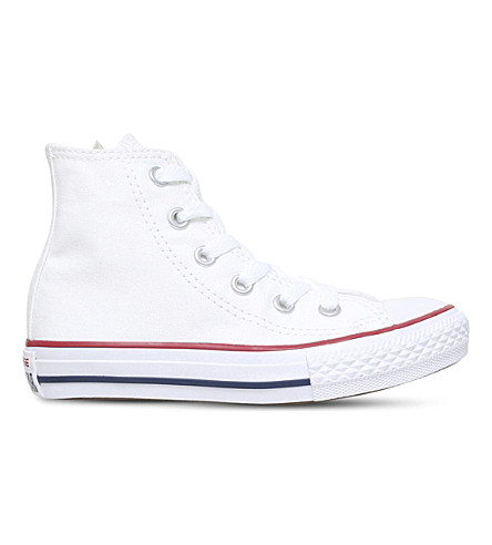 CONVERSE Chuck Taylor All Stars high-top trainers 3-4 years (White
