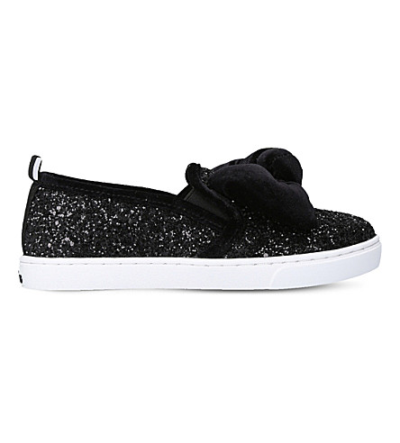 MINI MISS KG Twister textile skate shoes (Black