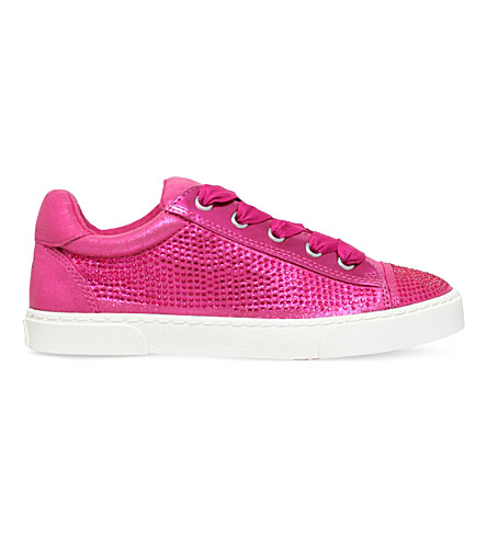 MINI MISS KG Magic embellished trainers 7-10 years (Pink