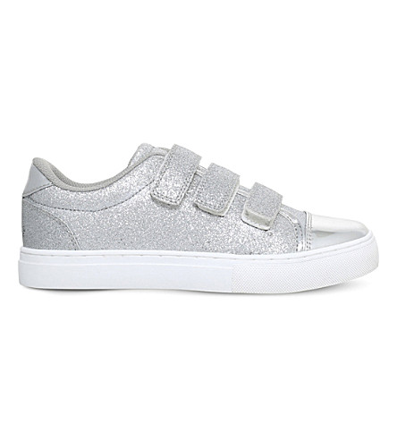 MINI MISS KG Supernova glitter trainers 7-10 years (Silver