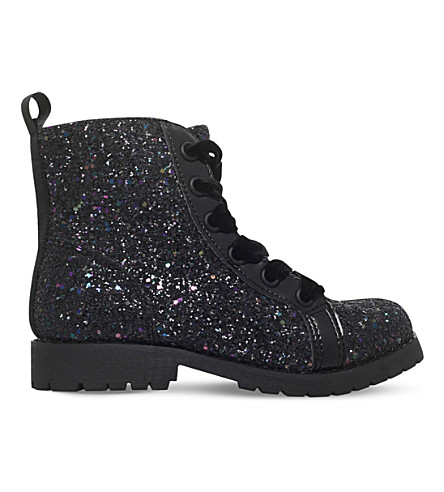 MINI MISS KG Midnight glitter boots 7-11 years (Mult/other