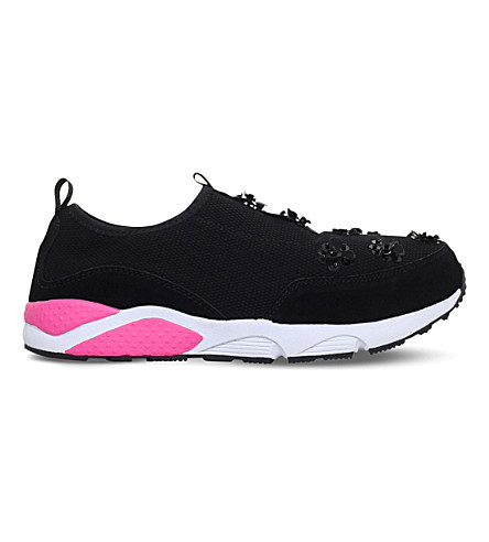 MINI MISS KG Lullaby Canvas Trainers 7-10 years (Black