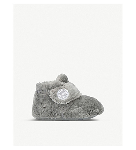 UGG Bixbee terry-cloth slippers 6 months - 1 year (Grey