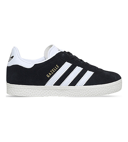 ADIDAS Gazelle suede trainers 4-9 years (Black