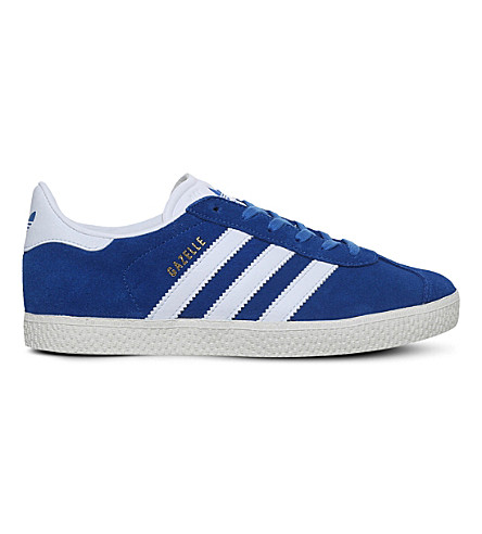 ADIDAS Gazelle suede trainers 4-9 years (Blue