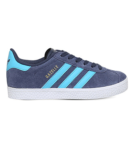 ADIDAS Gazelle suede trainers 5-8 years (Navy