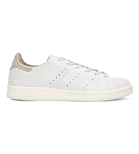 ADIDAS Stan Smith suede sneakers 9-11 years (Grey
