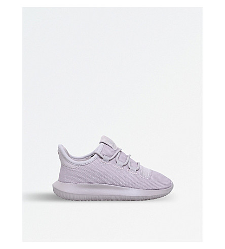 ADIDAS Tubular Shadow knitted trainers 5-8 years (Grey/light