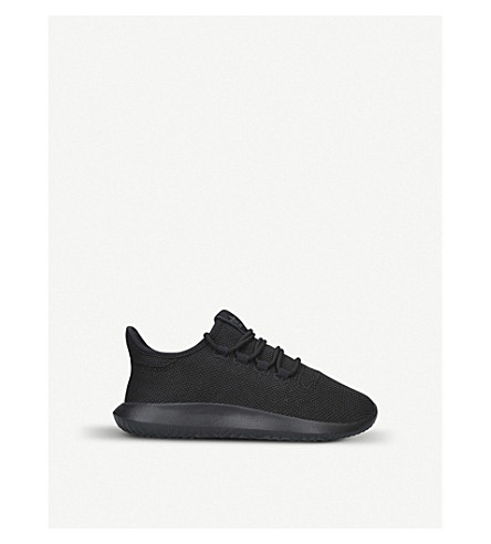 ADIDAS Tubular Shadow two-tone knit trainers (Black