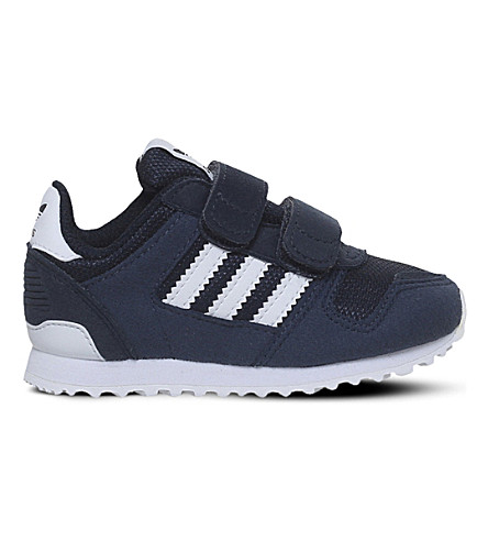 ADIDAS ZX 700 cf i trainers 2-5 years (Navy