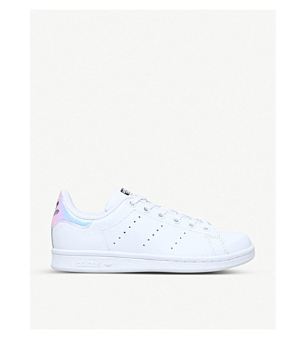 ADIDAS Stan Smith leather trainers 9-10 years (White/oth