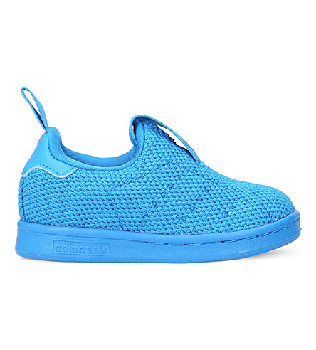 ADIDAS Stan Smith 360 mesh trainers 6 months - 5 years (Blue