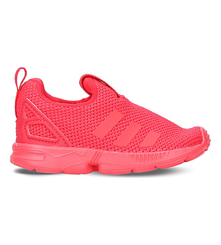 576e5436a85e6 ADIDAS ZX Flux 360 mesh trainers (Red