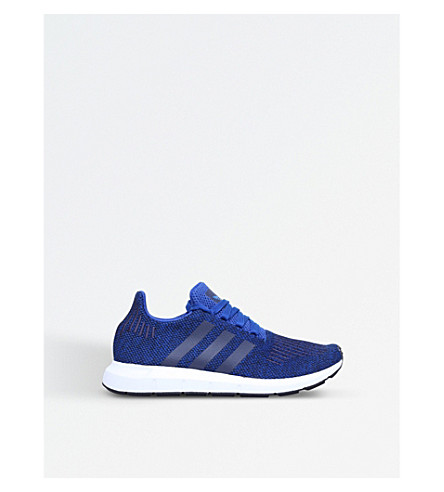 ADIDAS Swift Run knitted trainers 9-11 years (Blue