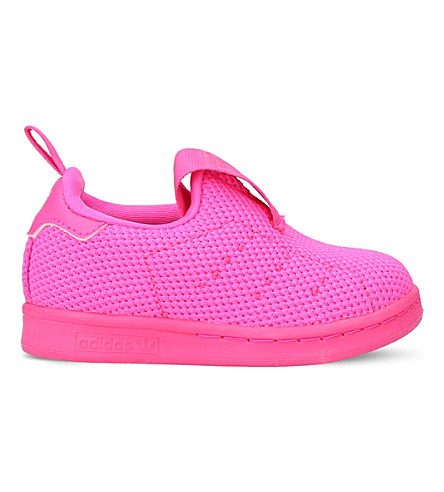 ADIDAS Stan Smith 360 mesh trainers 6 months - 5 years (Pink