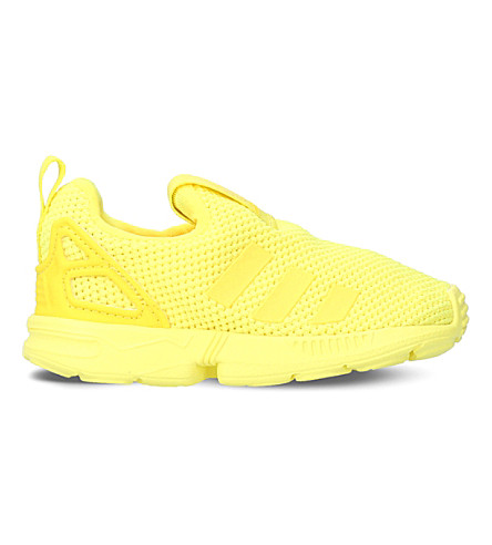 ADIDAS ZX Flux 360 mesh trainers (Yellow