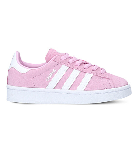 ADIDAS Campus suede trainers 4-9 years (Pink