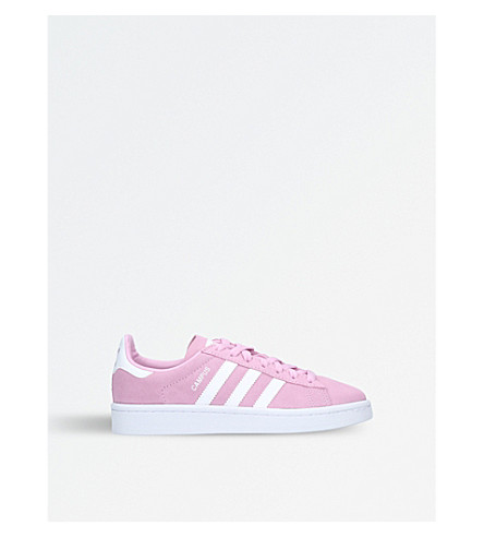 ADIDAS Campus suede trainers 9-11 years (Pink