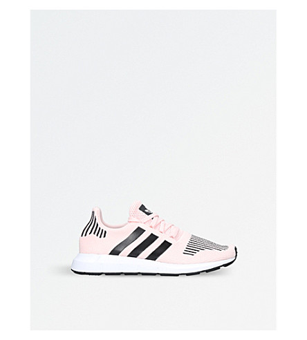 ADIDAS Swift Run knitted trainers (Pale+pink
