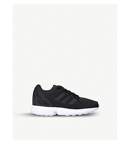 73f939c56f0a7 ADIDAS Zx flux mesh trainers (5-7 years) (Black