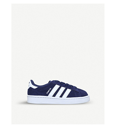 ADIDAS Campus low-top suede trainers 1-5 years (Navy