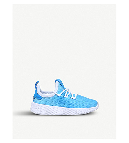 ADIDAS Pharrell Williams Tennis HU mesh trainers 6 months - 5 years (Blue+other