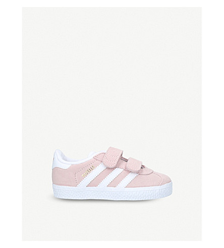 ADIDAS Gazelle suede trainers 1-5 years (Pale+pink