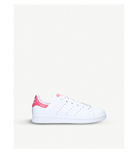 ADIDAS Stan Smith leather trainers 9-11 years (White/oth