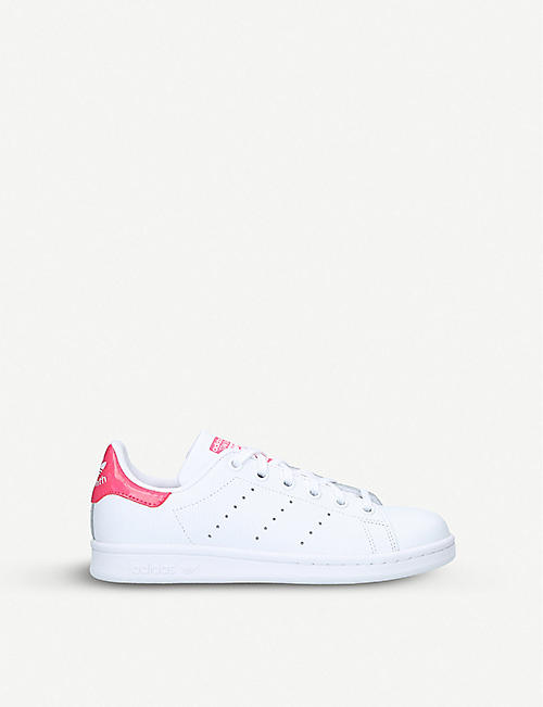 ADIDAS Stan Smith leather trainers 9-11 years