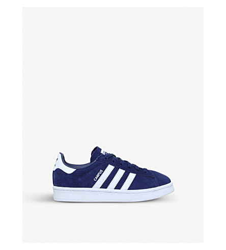 ADIDAS Campus suede trainers 5-9 years (Navy