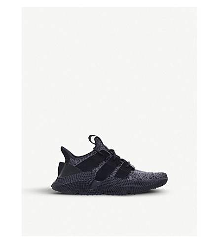 ADIDAS Prophere knitted trainers 9-10 years (Black