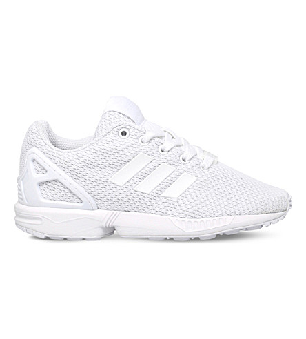 ADIDAS ZX Flux woven trainers 5-9 years (White