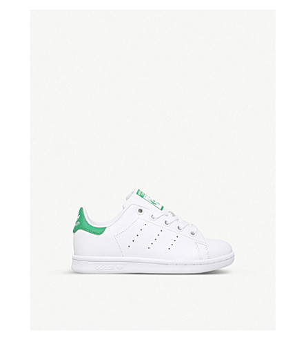 ADIDAS Stan Smith leather trainers 2-9 years (White/oth